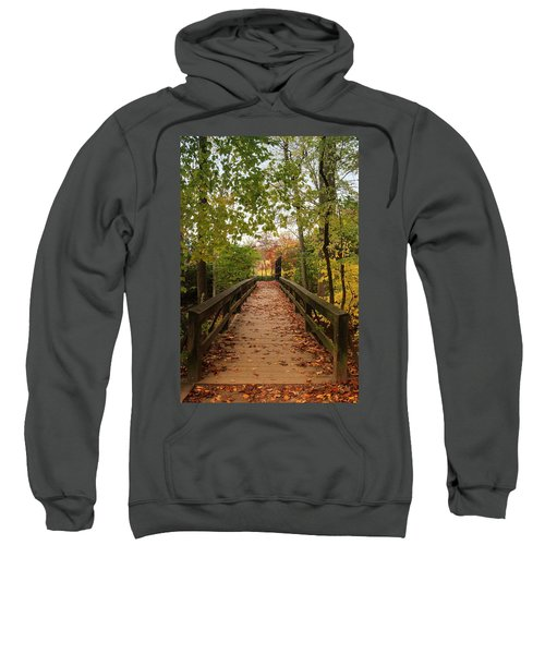 Decorate With Leaves - Holmdel Park Sweatshirt