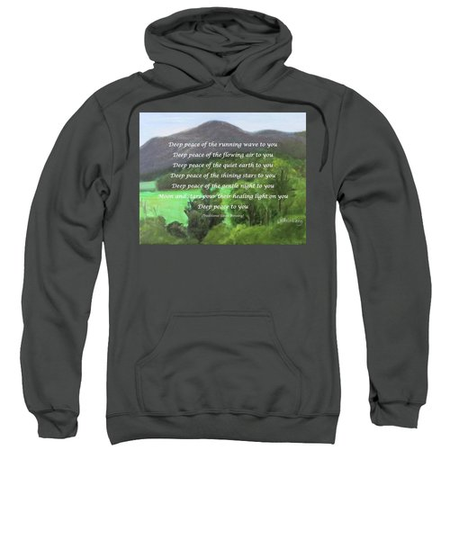 Deep Peace With Ct River Valley Sweatshirt