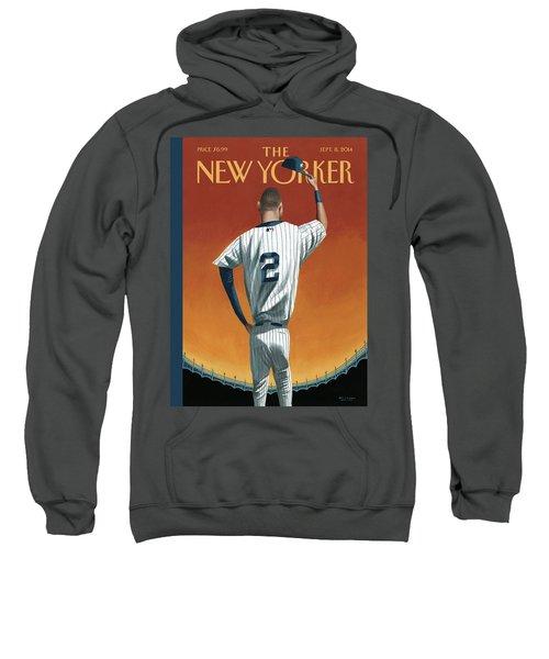 Derek Jeter Bows Sweatshirt