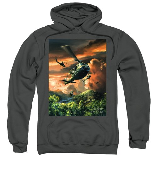 Descent Into The A Shau Valley Sweatshirt