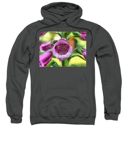 Digitalis Purpurea Sweatshirt