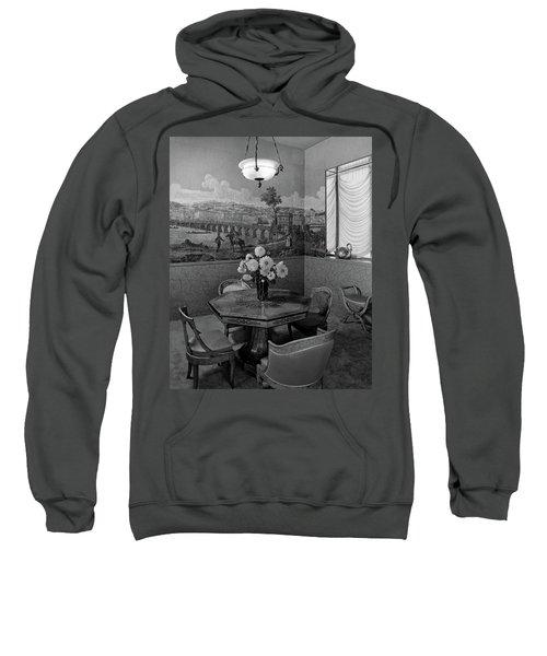 Dining Room In Helena Rubinstein's Home Sweatshirt