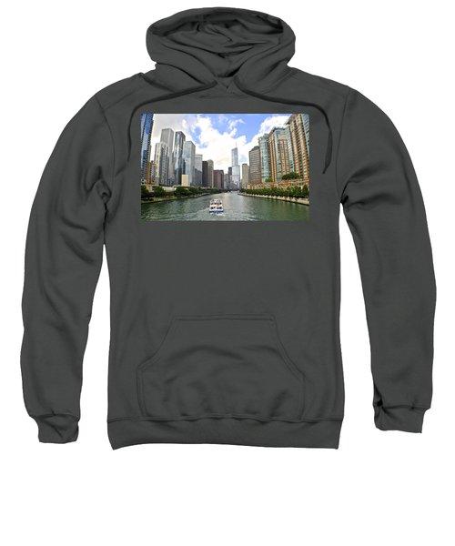 Down The Chicago River Sweatshirt