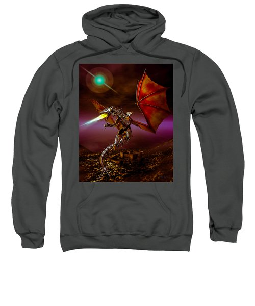 Dragon Rider Sweatshirt by Bob Orsillo