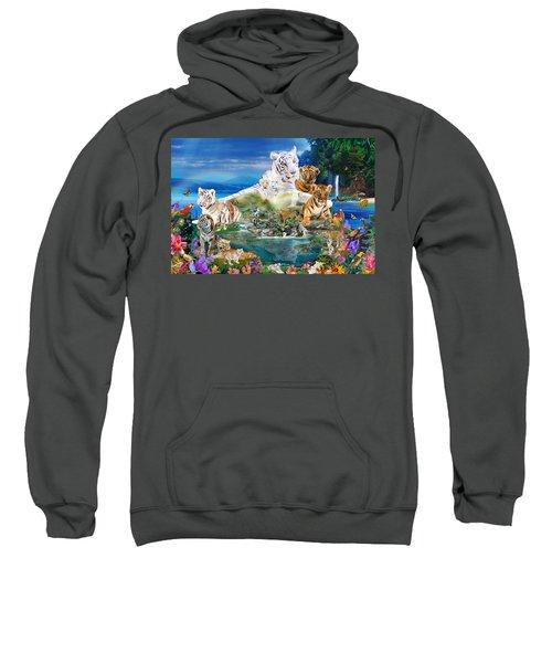 Dreaming Of Tigers  Variation  Sweatshirt