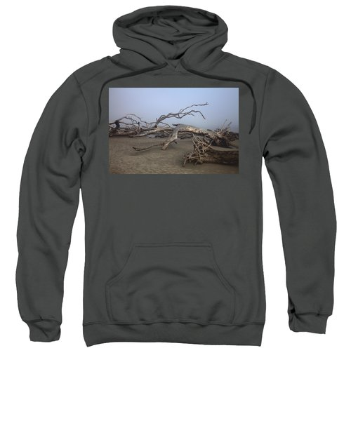 Driftwood Trees On Jekyll Island Sweatshirt