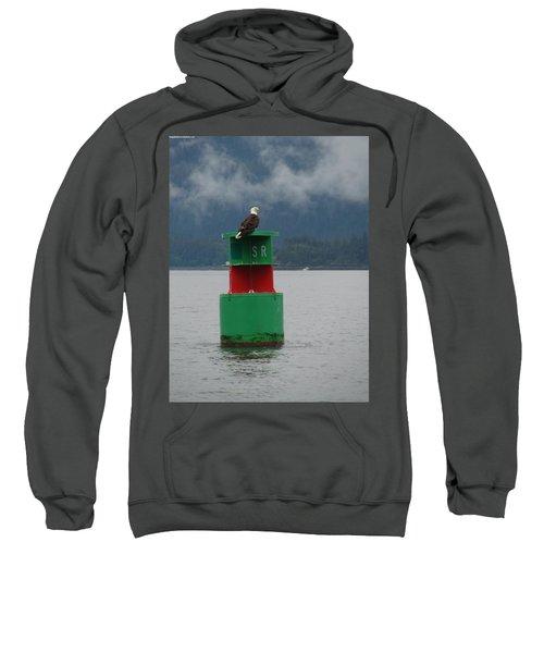 Eagle On Bouy Sweatshirt