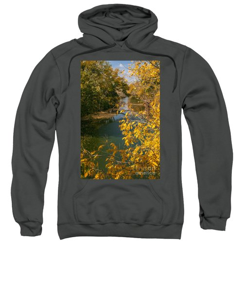 Early Fall On The Navasota Sweatshirt