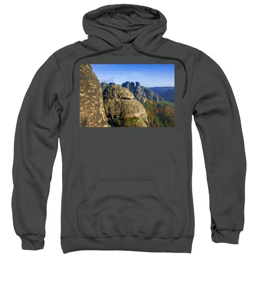 Early Morning On Neurathen Castle Sweatshirt