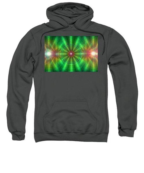Earth Grid Six Sweatshirt by Derek Gedney