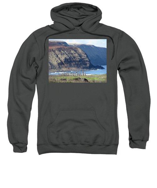 Easter Island Requiem Sweatshirt