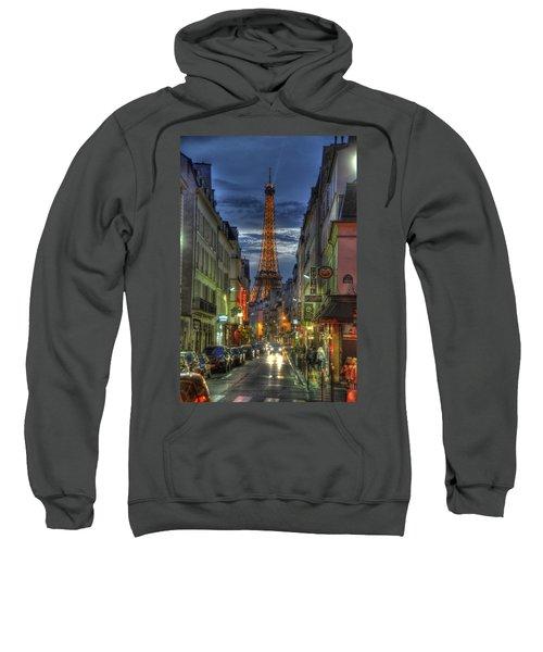 Eiffel Over Paris Sweatshirt
