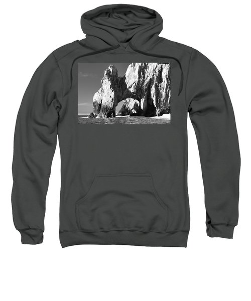 El Arco In Black And White Sweatshirt