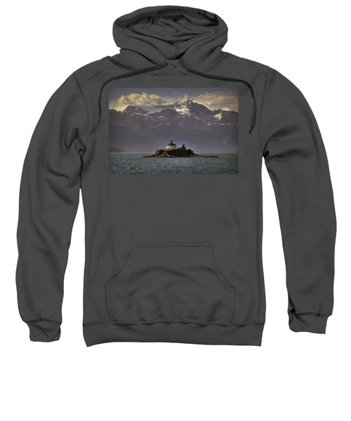 Eldred Rock Lighthouse Alaska Sweatshirt