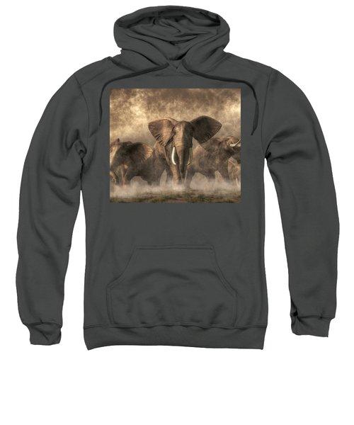 Elephant Stampede Sweatshirt