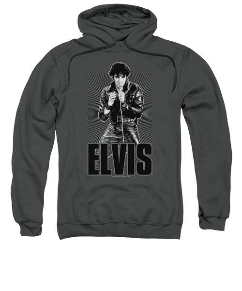 Elvis - Leather Sweatshirt by Brand A