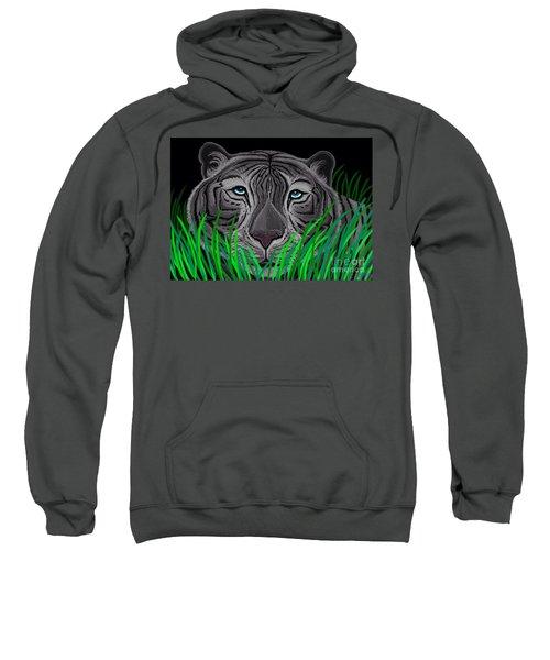 Endangered White Tiger Sweatshirt