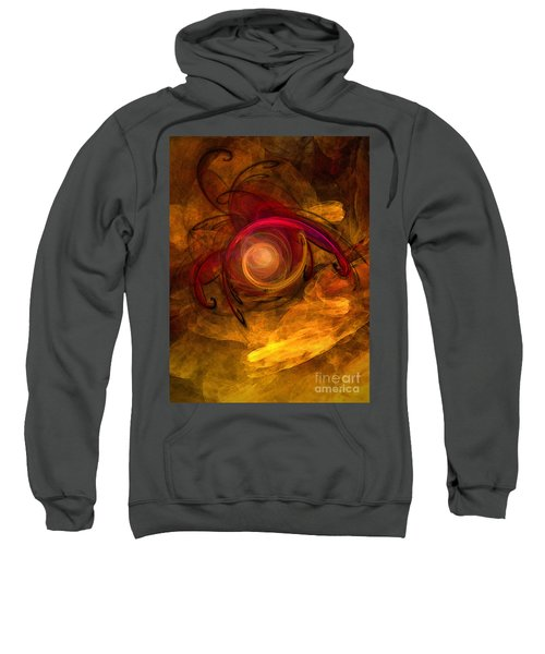 Eternity Of Being-abstract Expressionism Sweatshirt