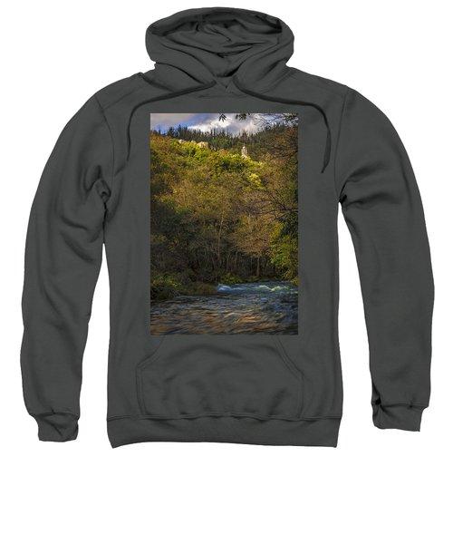 Eume River Galicia Spain Sweatshirt