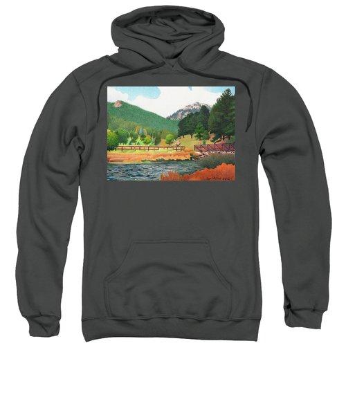 Evergreen Lake Spring Sweatshirt