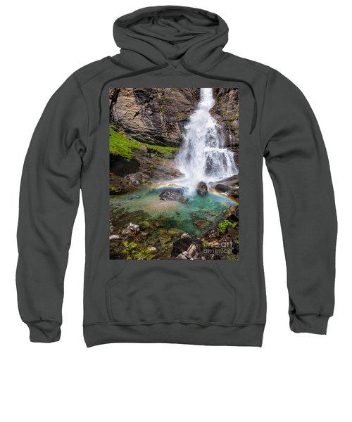 Fall And Rainbow Sweatshirt by Silvia Ganora