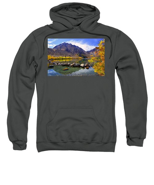 Fall Colors At Convict Lake  Sweatshirt