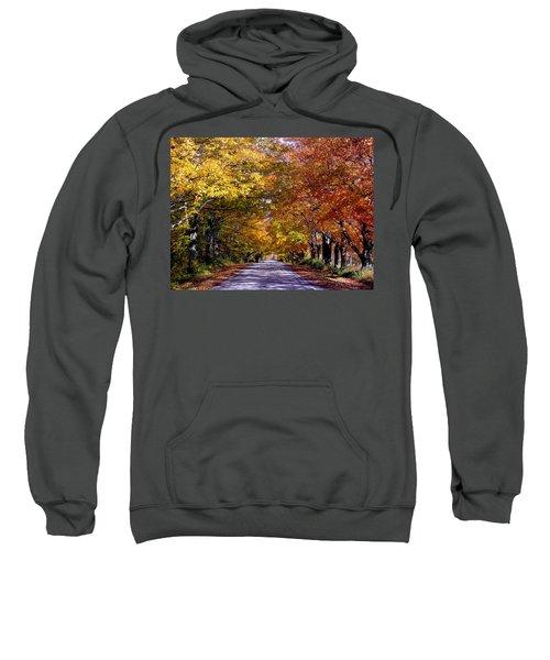 Fall Colors Near Sister Bay Sweatshirt