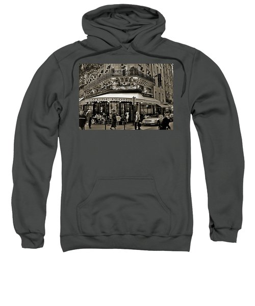Famous Cafe De Flore - Paris Sweatshirt