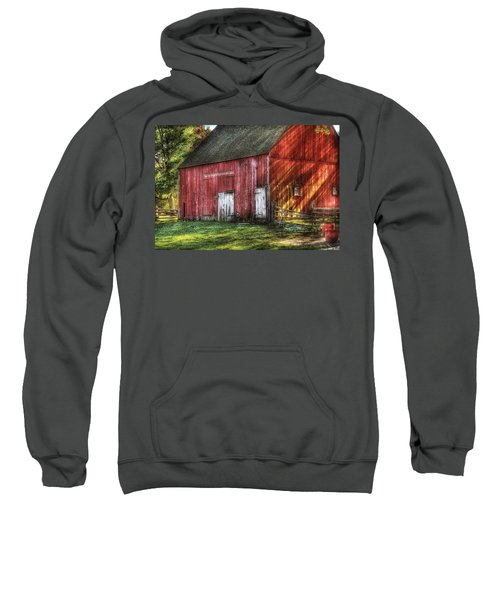 Farm - Barn - The Old Red Barn Sweatshirt