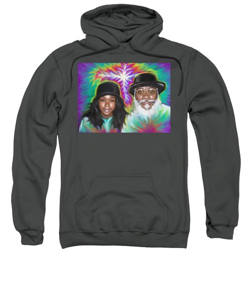 Father And Daughter Spirit Ministry  Sweatshirt