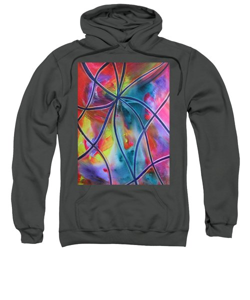 Faux Stained Glass 1 Sweatshirt