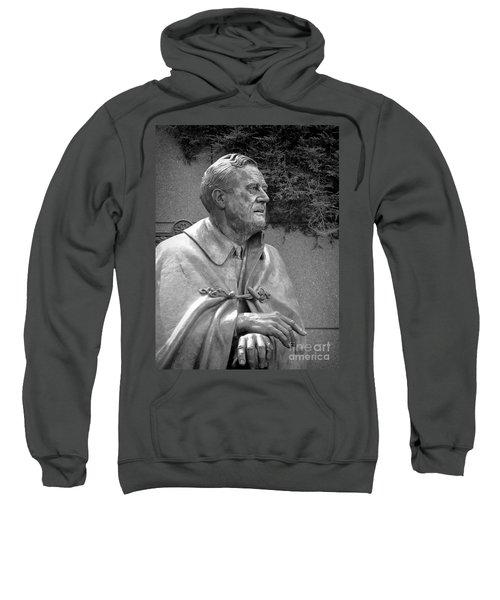 Fdr Statue At Fdr Memorial Sweatshirt