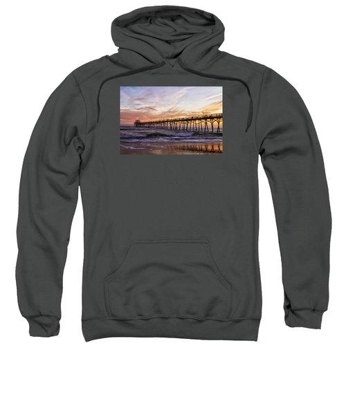 Febuary Sunset On Atlantic Beach Sweatshirt