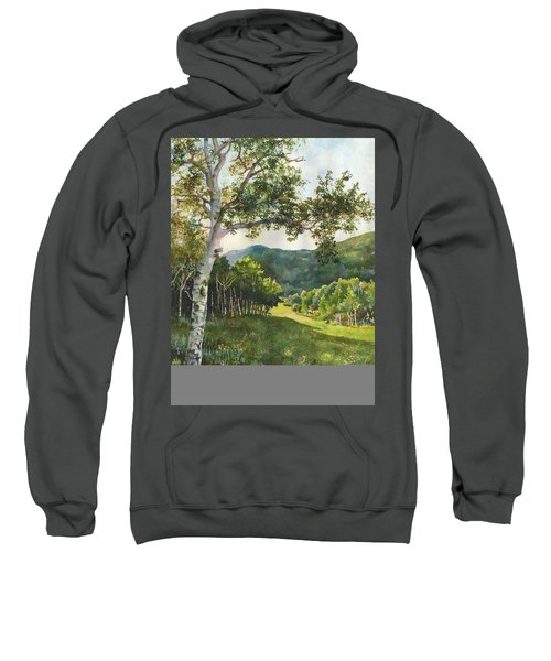 Field Of Light At Caribou Ranch Sweatshirt