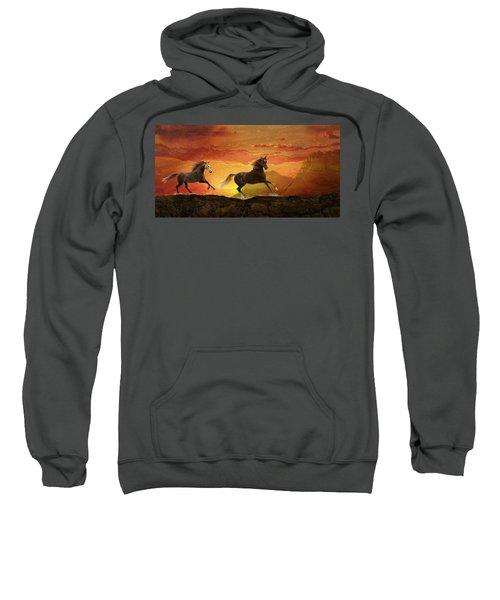 Fire Sky Sweatshirt