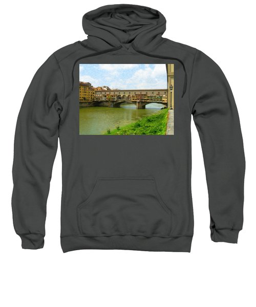 Firenze Bridge Itl2153 Sweatshirt