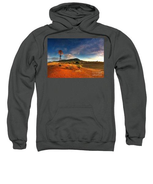 First Light On Wilpena Pound Sweatshirt