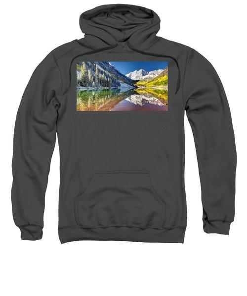 First Snow Maroon Bells Sweatshirt