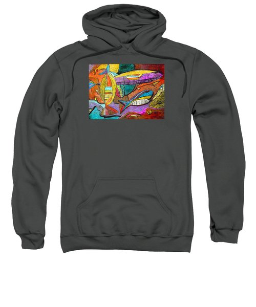 Fish And Chips Sweatshirt