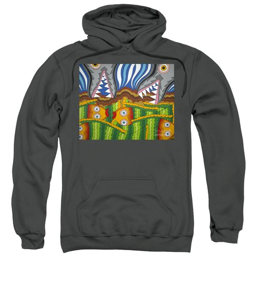 Fish Dinner Sweatshirt