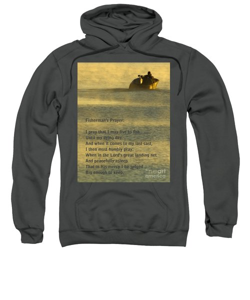 Fisherman's Prayer Sweatshirt by Robert Frederick