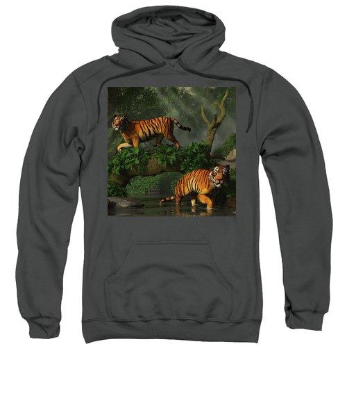 Fishing Tigers Sweatshirt