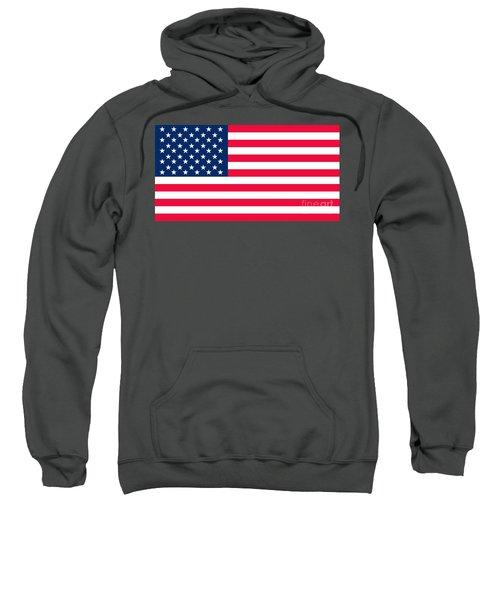 Flag Of The United States Of America Sweatshirt