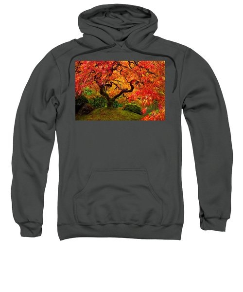 Flaming Maple Sweatshirt