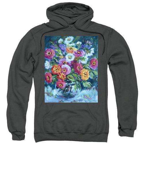 Floral Explosion No. 2 Sweatshirt