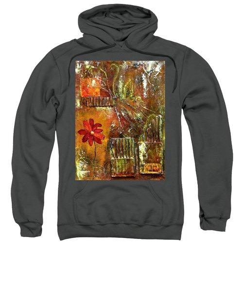 Flowers Grow Anywhere Sweatshirt by Bellesouth Studio