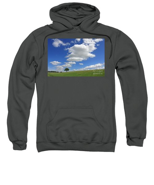 Fluffy Clouds Over Epsom Downs Surrey Sweatshirt