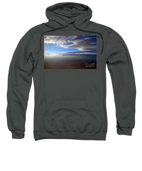 Flying Over Southern California Sweatshirt