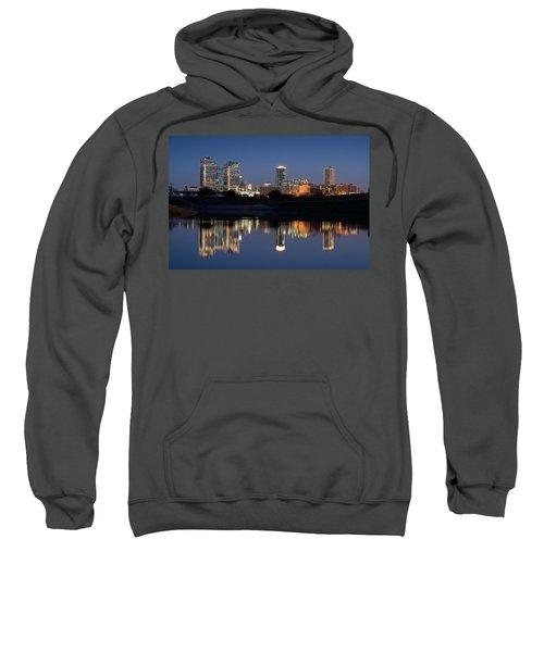 Fort Worth Skyline 020915 Sweatshirt
