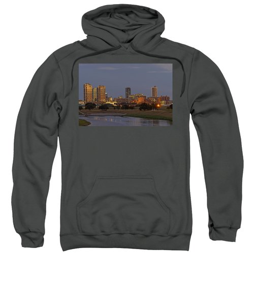 Fort Worth Skyline Golden Hour Sweatshirt